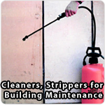 Cleaner,strippers for building maintenance
